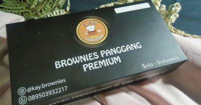 kemasan brownies