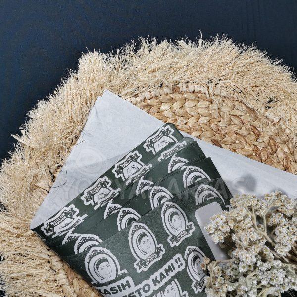 kertas bungkus nasi