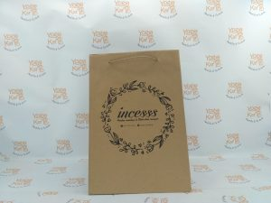 paperbag coklat fashion
