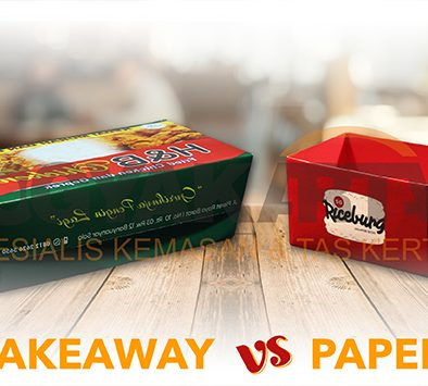 box take away vs paper tray