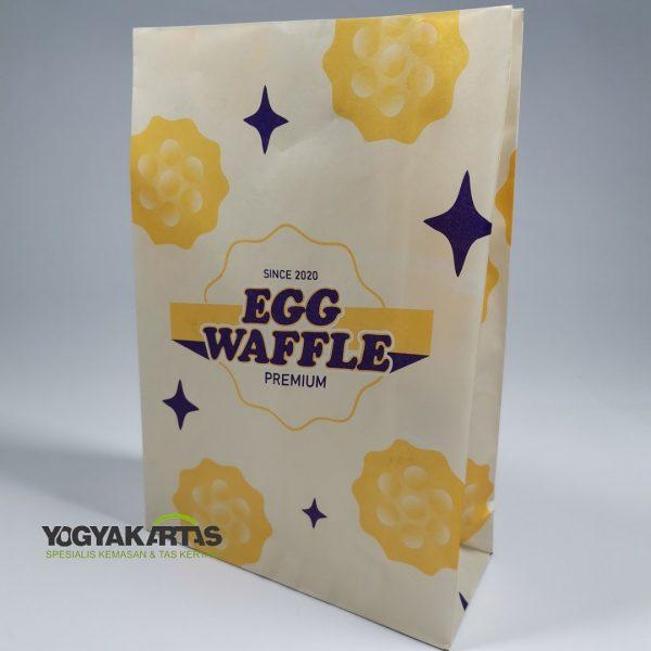 kantong egg waffle